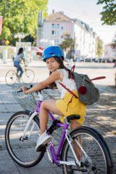 Auf das Fahrrad – fertig – los!