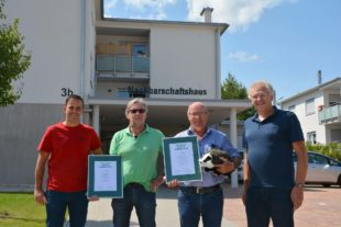 Firma Bau-Volk sowie Architekt Karl Ringwald mit dem »Dachs-Award 2020« ausgezeichnet