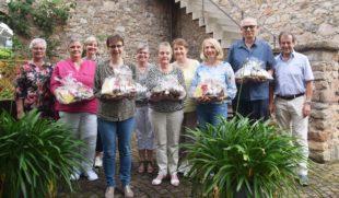 Kirchliche Sozialstation St. Raphael ehrt langjährige Mitarbeiter