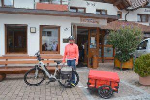 Sonja Wurth aus Oberharmersbach ist komplett aufs Fahrrad umgestiegen