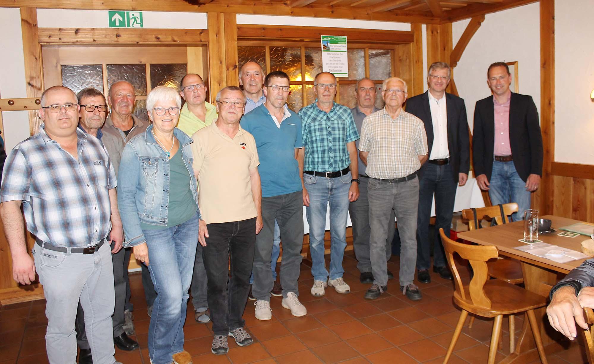 2021-9-15-OH-Franz Huber- SWV Oberharmersbach Mitgliederversammlung Bild1
