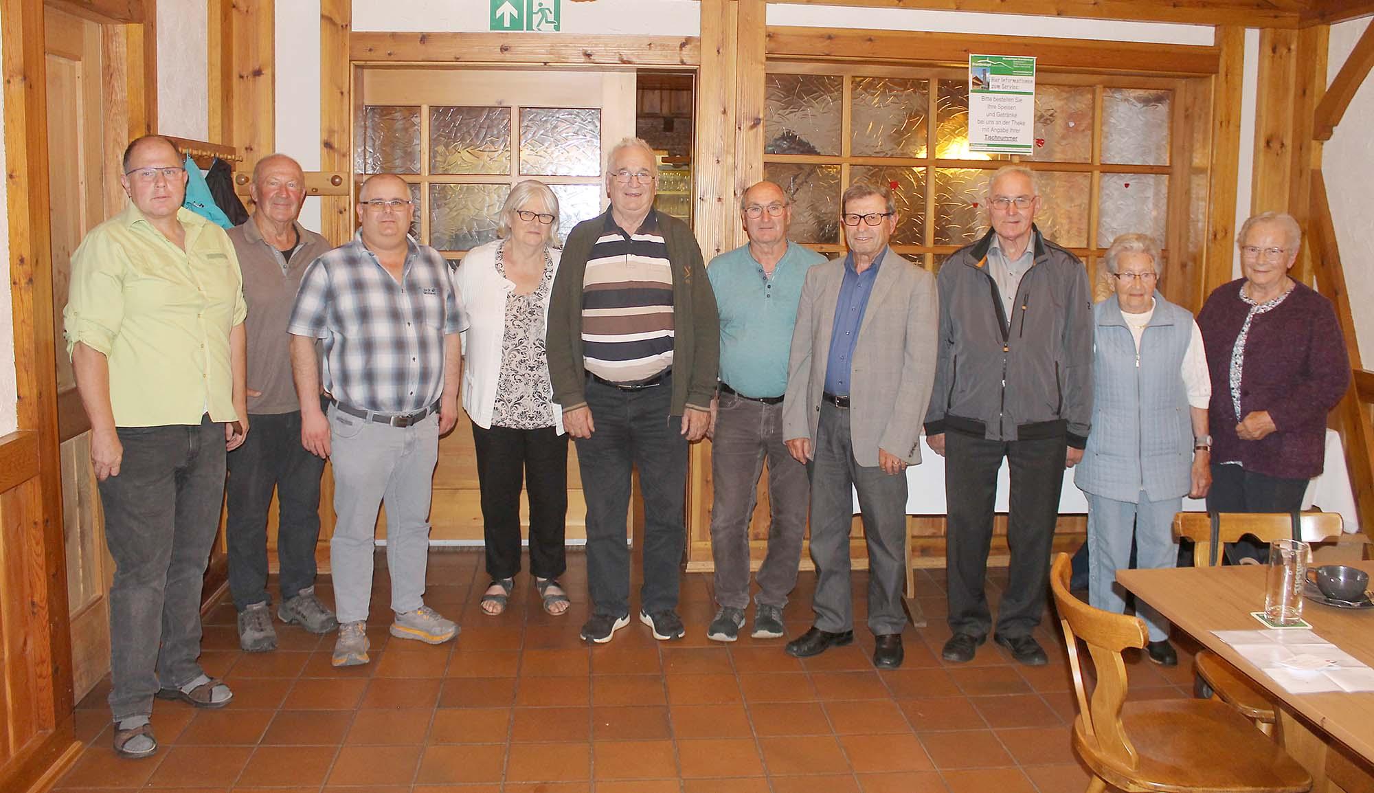 2021-9-15-OH-Franz Huber- SWV Oberharmersbach Mitgliederversammlung Bild2