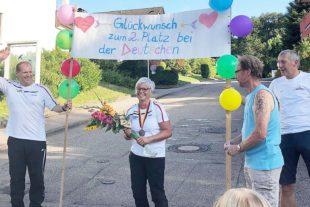 Sabine Herm ist deutsche Vize-Meisterin im Bogenschießen