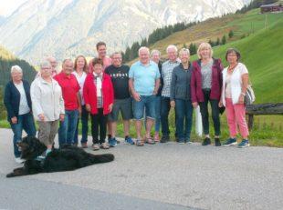 Bestes Wanderwetter und Sonne satt in den Lechtaler Alpen