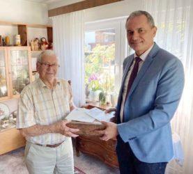Bürgermeister gratulierte zum 95. Geburtstag