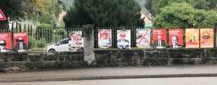 CDU mahnt: Plakate zu beschädigen oder beschmieren ist eine Straftat