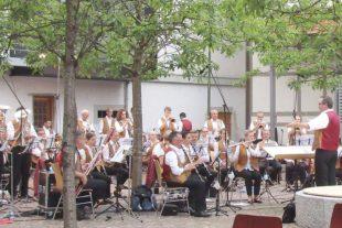 Am Samstag Platzkonzert in der Ortsmitte