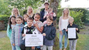 Nordracher Kommunionkinder spendeten für das »Bärenkind« Lia