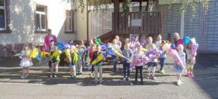 Einschulungsfeier der Grundschule Unterharmersbach für 24 Erstklässer