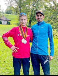 Lukas Ehrle wird sensationell Vizemeister bei den Deutschen Berglaufmeisterschaften