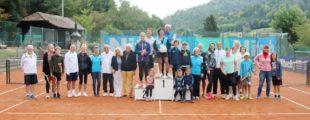 Anita Bürk und Dragutin Pirs sind die Champions beim Mixed-Clubturnier TC Zell 2005