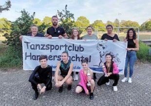 Erfolgreiche Tänzer bei der Deutschen Rock 'n' Roll-Meisterschaft
