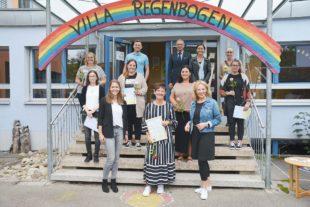 Kindergarten »Villa Regenbogen« fördert die Gesundheit von Kindern, Fachkräften und Eltern