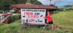 Fabian Zimmermann holt Bronze bei U18-Kegel-Weltmeisterschaft