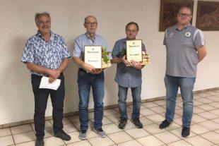 Willi Kornmayer und Hans Albrecht zu Ehrenmitgliedern ernannt