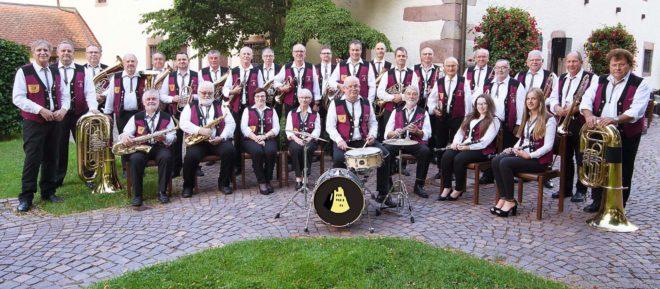Blaskapelle »Original Geroldsecker Musikanten«: Gottesdienst und Platzkonzert