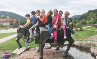 »Drachen«starke Ferienbetreuung in Nordrach