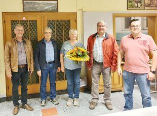 Bürgerwehr Oberharmersbach feiert mit langjährigem Mitglied