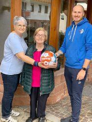 Gleich zwei Ballspenden fürs FVU-Heimspiel gegen Elgersweier!