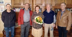 Bürgerwehr gratuliert Siegfried Boschert zum 80. Geburtstag