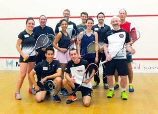 Squash-Liga in der »Gasselhalde«