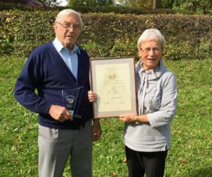 Unterentersbacher Dienstjubilar ist seit 65 Jahren im Einsatz
