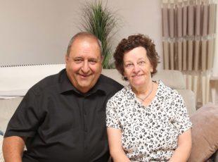 Inge und Alfred Brucher gehen seit 50 Jahren gemeinsam durchs Leben