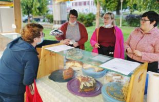Erlös aus Kuchenverkauf beschert Jungmusikern besondere Tage